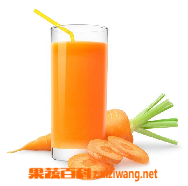 果蔬百科胡萝卜汁